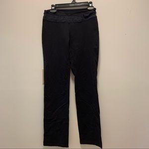 Tuffs Black Straight Leg Leggings or Yoga Pants